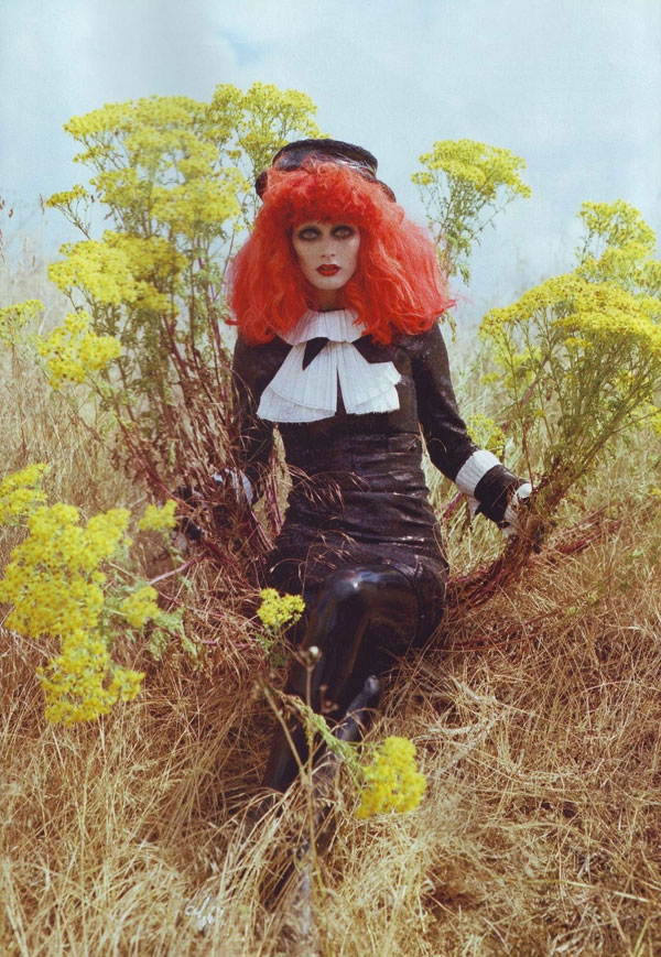 Tim Burton Harper s Bazaar october 2009 6