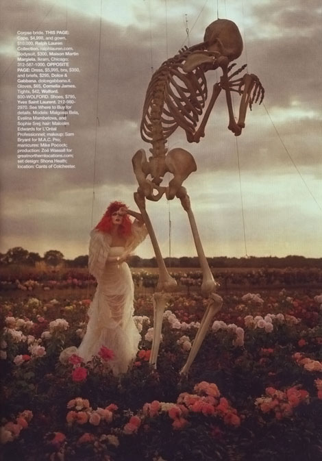 Tim Burton Harper s Bazaar october 2009