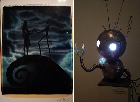 MoMa's Tim Burton Exhibition