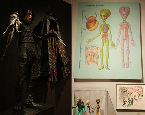 Tim Burton Moma