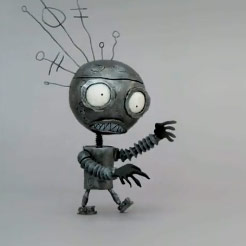 Tim Burton's Short Animation