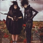 Tim Burton Trick Treats Harper s Bazaar october 2009