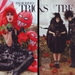Tim Burton Trick Treats Harper s Bazaar october 2009 large