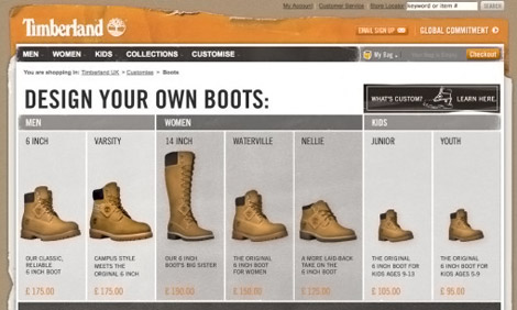 Timberland Design Your Own Boots