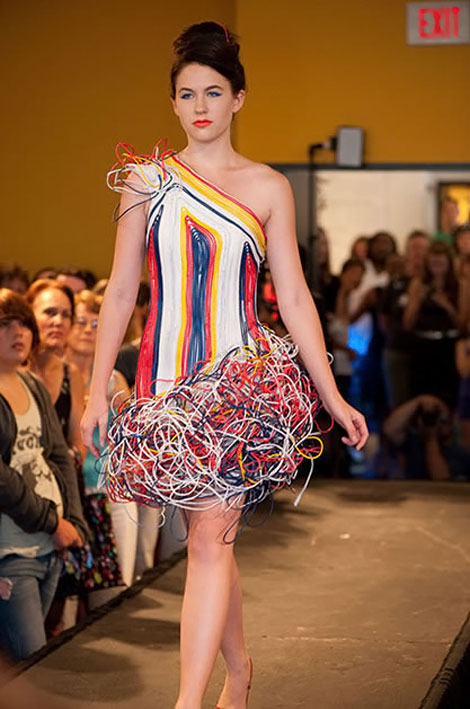Ready For The Recycled Computer Wiring Dress?