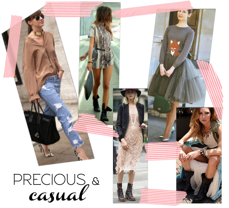 tips for personal style mixing precious casual