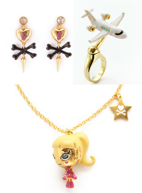 Check Out Tokidoki's Noir Jewelry