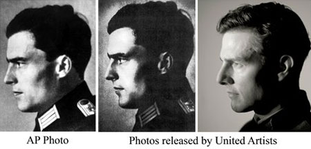 Tom Cruise Varlkyrie German Officer Claus Von Stauffenberg Pictures