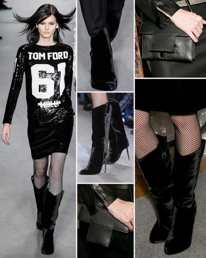 Tom Ford boots bags Fall 2014 collection