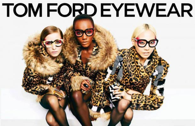 Tom Ford eyeglasses frames Fall 2013 ad campaign