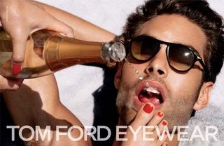 Tom Ford Eyewear Ad Campaign