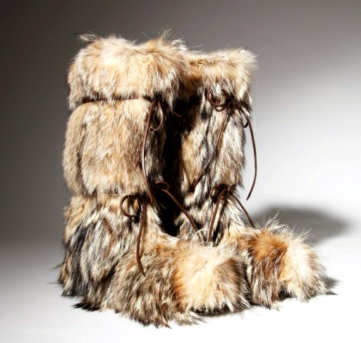 Tom Ford's Fur Boots - StyleFrizz