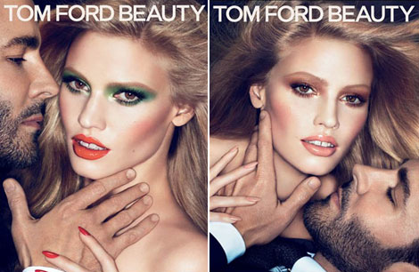 Tom Ford Lara Stone Tom Ford Beauty ad campaign 2011