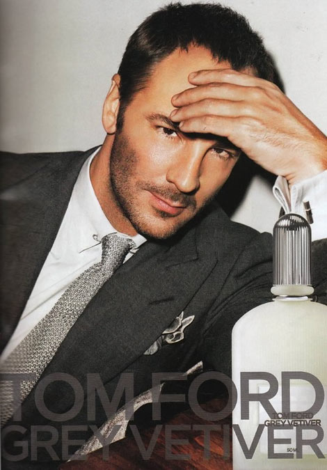 Tom Ford Tom Ford Grey Vetiver perfume ad
