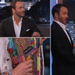 Tom Ford with Jimmy Kimmer about Oscars fashion