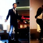 Tom Hiddleston dancing