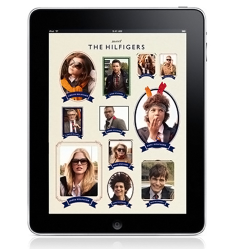 Meet The Hilfigers In Tommy Hilfiger's Fall Winter 2010 2011 Ad Campaign