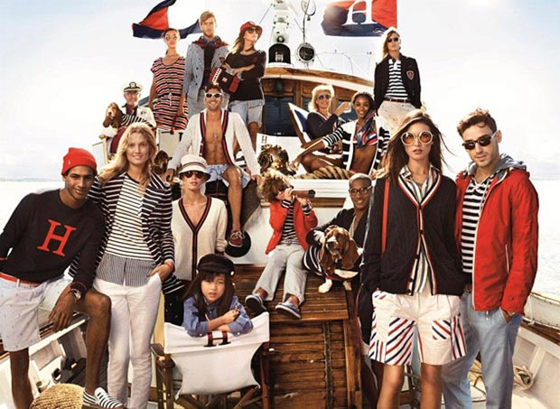 Tommy Hilfiger The Hilfigers summer campaign