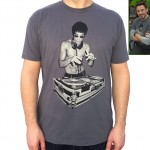 Tony Stark Iron Man Bruce Lee tshirt Avengers 2 Age of Ultron