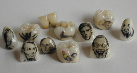 Tooth Tattoos Models