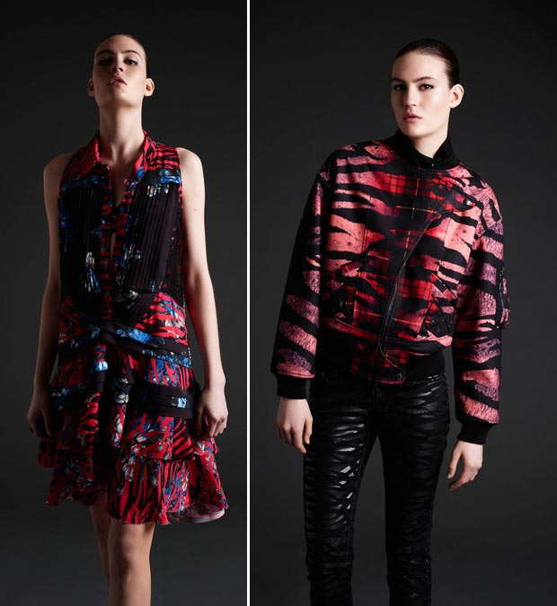Top 5 trends bright animal print McQ McQueen fall 2013