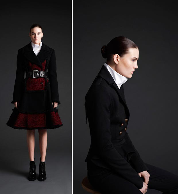 Top 5 trends McQ McQueen fall 2013