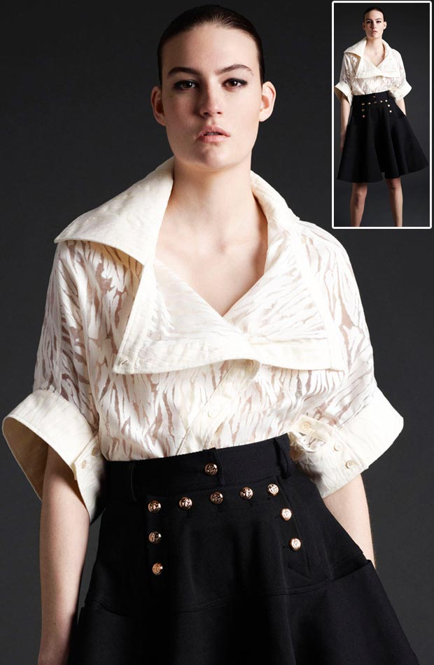 Top 5 trends oversized top McQ McQueen fall 2013