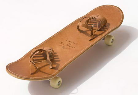 Tougher Than Leather – Sandal Skateboard