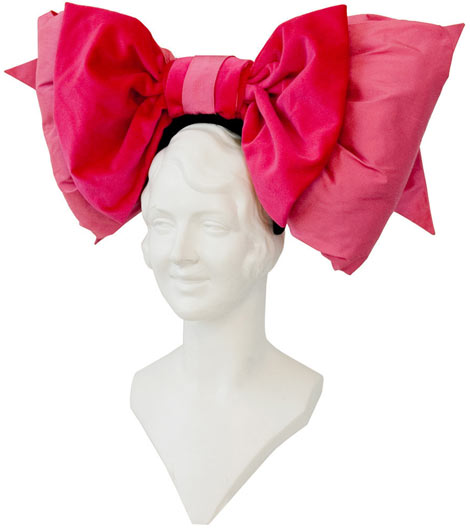 Tour de Force Puff Bow headband