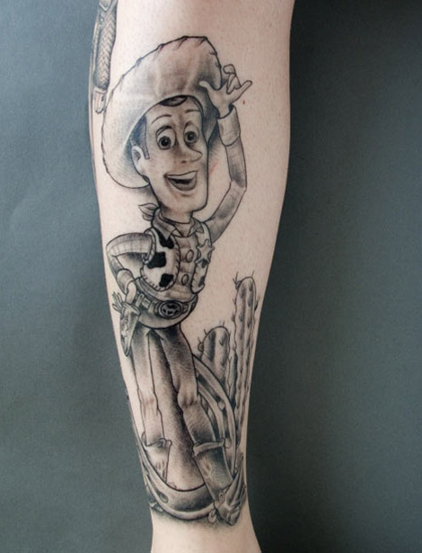 interesting tattoo story! Every tattoo is unusual and interesting!
