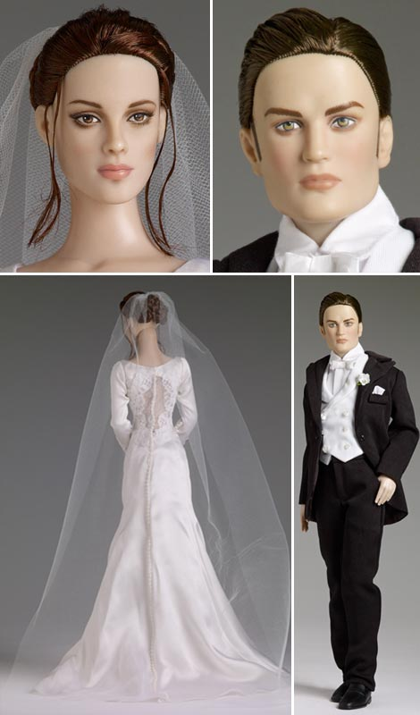 Twilight dolls Bella Edward wedding dolls