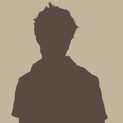 Twilight Robert Pattinson Vinyl decal silhouette