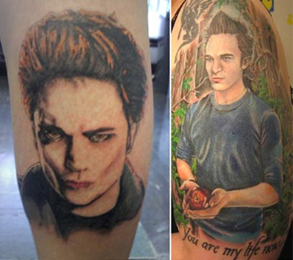 Twilight Tattoo Edward Cullen