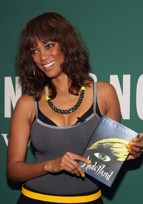 Tyra Banks book Modelland
