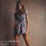 Uk Vogue Daria Werbowy Balenciaga