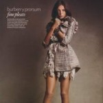 Uk Vogue Daria Werbowy Burberry Prorsum