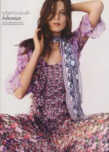 Uk Vogue Daria Werbowy Cavalli