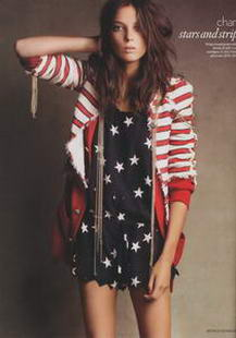 Uk Vogue Daria Werbowy Chanel