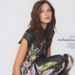 Uk Vogue Daria Werbowy Prada