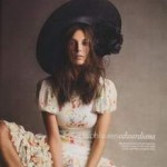 Uk Vogue Daria Werbowy Ralph Lauren