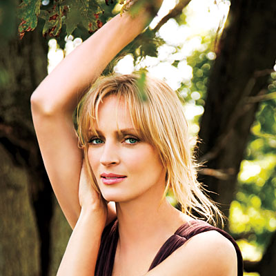 Uma Thurman InStyle US september 05