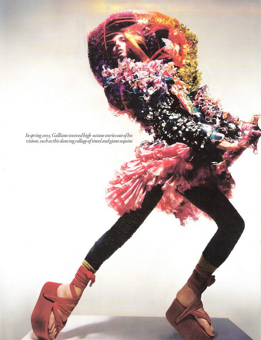 Unbelievable Fashion by Nick Knight for Vogue UK December 2008 pictures 3