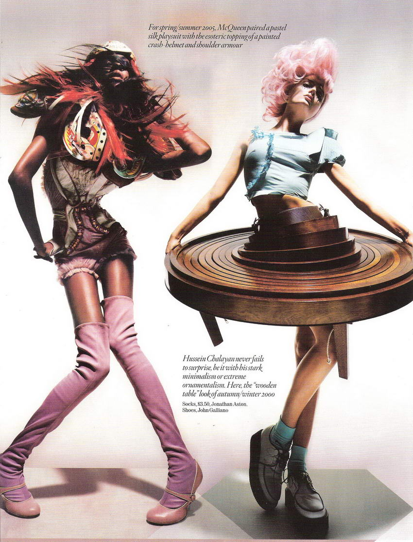 Unbelievable Fashion by Nick Knight for Vogue UK December 2008 pictures 4