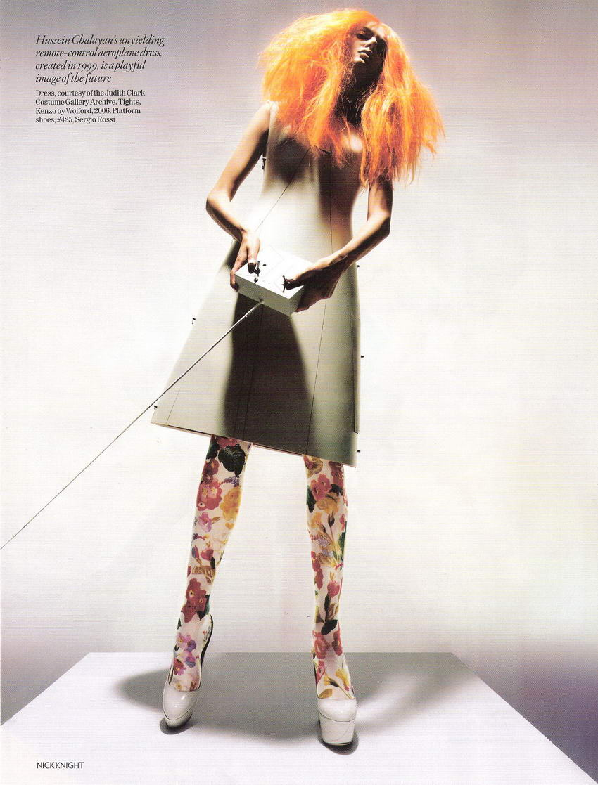 Unbelievable Fashion by Nick Knight for Vogue UK December 2008 pictures 7