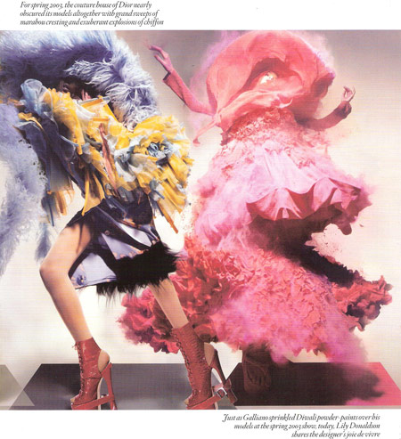 Unbelievable Fashion by Nick Knight for Vogue UK December 2008 pictures