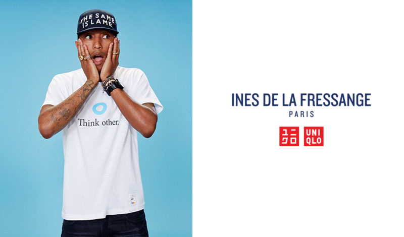 Uniqlo new collection Ines de la Fressange Pharrell