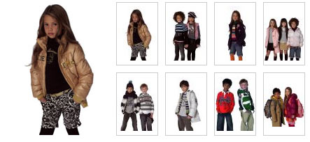 United Colors of Benetton Children Collection Fall Winter 2008 2009