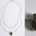 Urban Outfitters Perfume Bottle Necklace metal