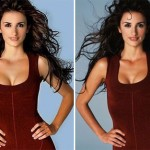 using Photoshop to change complexion and enhance certain body parts