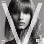 V Magazine 55 fall 2008 Anna Selezneva cover